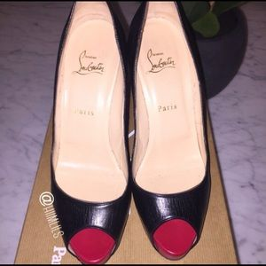 Authentic Christian Louboutin— Very Prive 120mm